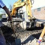 Repavimentación de calles en barrios de San Martín