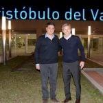 Jorge Macri y Rogelio Frigerio recorrieron las obras en la estación Aristóbulo del Valle