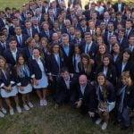 La delegación argentina de Río 2016 estuvo en la Quinta de Olivos