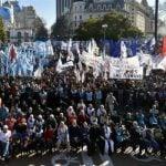 Organizaciones Sociales y trabajadores populares se movilizaron en San Cayetano