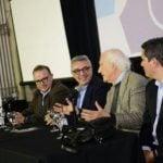 Zamora y Pino Solanas presentaron un documental sobre Perón