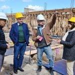 """Andreotti en la obra del nuevo Hospital de San Fernando: """"Completaremos un muy buen servicio de salud"""""""
