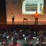Más de 2 mil alumnos se concientizaron acerca del uso responsable del gas