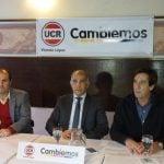 El vicegobernador se reunió con el radicalismo de Cambiemos de Vicente López