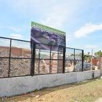 Avanzan las obras de construcción del Polideportivo N° 8