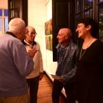 Tres artistas sanfernandinos exponen sus pinturas en la Quinta El Ombú