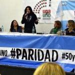 """Durrieu: """"Es hora de una igualdad real entre mujeres y hombres"""""""