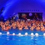Fiesta de Aquagym nocturno en los Polideportivos de San Fernando