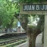 Se cierra un andén de la estación Juan B. Justo por obras