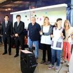 Sebastián Galmarini participó de las actividades por el Día de la Paz