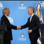 Macri y Tabaré se reunieron en Olivos con agenda abierta