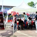 Campaña contra el SIDA en San Fernando