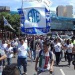 ATE Zona Norte realizó una marcha por avenida Maipú