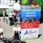 Siguen los operativos de prevención de dengue en San Fernando
