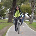 Visita guiada en bicicleta por el cumpleaños de la ciudad de Martínez