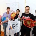 El diputado Andreotti entregó subsidios a deportistas sanfernandinos