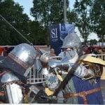 Se realizó el Torneo Internacional de Combate Medieval en Villa Adelina