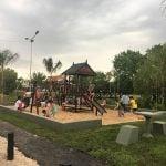 Nuevo espacio público en los Troncos del Talar