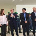 Junto al Presidente y la Gobernadora, Jorge Macri inauguró la estación Aristóbulo del Valle