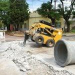 Continúan los trabajos de la obra hidráulica en San Andrés