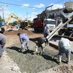 Continúan las obras de repavimentación en distintos barrios de San Martín