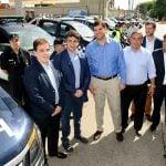 Jorge Macri, Ritondo y Burzaco recibieron a las fuerzas federales en Vicente López