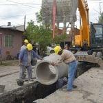 Comenzó la obra de un nuevo desagüe pluvial de 200 metros en Barrio Independencia