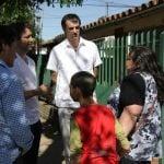 Segundo Cernadas y Esteban Bullrich realizaron un timbreo en Tigre