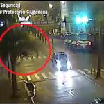 Un hombre volcó en pleno centro de Tigre y fue detenido