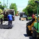Obras asfálticas en distintos barrios de San Fernando