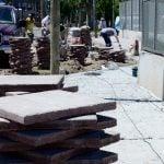 Arreglos en las calles adyacentes al Poli N° 7 de San Fernando