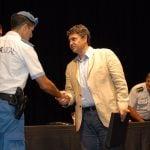 Jorge Macri reconoció a agentes de la Policía Local y de la Provincia