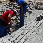 Se renuevan adoquines de calles históricas de San Fernando