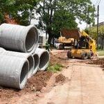Avanza la obra hidráulica en San Andrés