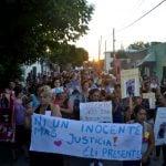 Multitudinaria marcha en La Cava pidiendo paz y justicia por las víctimas de la violencia