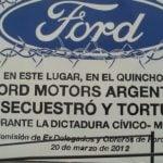 Postergaron el juicio a ex directivos de Ford por delitos de lesa humanidad