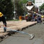 Se realizan obras hidráulicas en distintos lugares de Vicente López