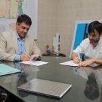 Vicente López firmó un convenio con Provincia para realizar obras en el Barrio Habana