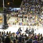 Murgas de San Fernando presenciaron la apertura del Carnaval de Gualeguaychú