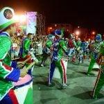 """San Fernando celebró su """"Precarnaval"""""""