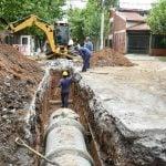 Avanzan las obras hidráulicas en el barrio San Andrés