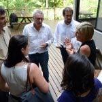 Zamora pidió la realización de obras para el Reconquista con el crédito del BID