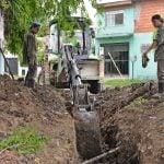 Se realizaron obras hidráulicas en Virreyes Oeste