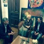 Guido Lorenzino mantuvo una reunión con Estela de Carlotto