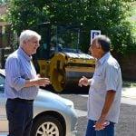 Continúan las obras de renovación asfáltica en San Fernando