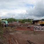 Avanzan las obras de ampliación en dos puentes del camino Bancalari-Benavídez