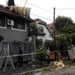 El temporal destrozó viviendas y árboles en Vicente López