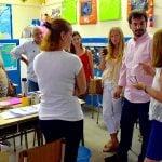 """Galmarini: """"Esperamos que los chicos inicien sus clases cuanto antes"""""""