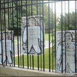 Cada 24 de marzo, las siluetas rememoran historias en las paredes de zona norte