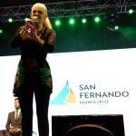 Valeria Lynch hizo cantar a San Fernando